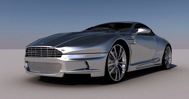 sportovní automobil Aston Martin