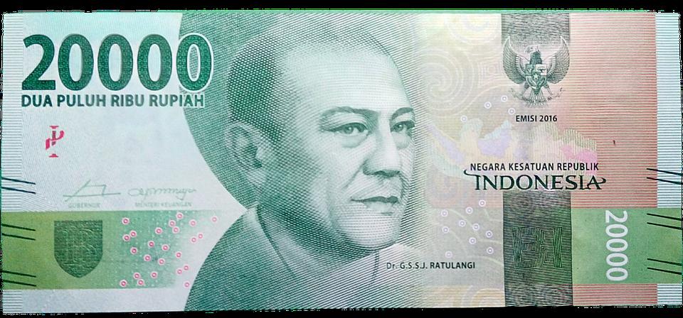 peníze Indonézie